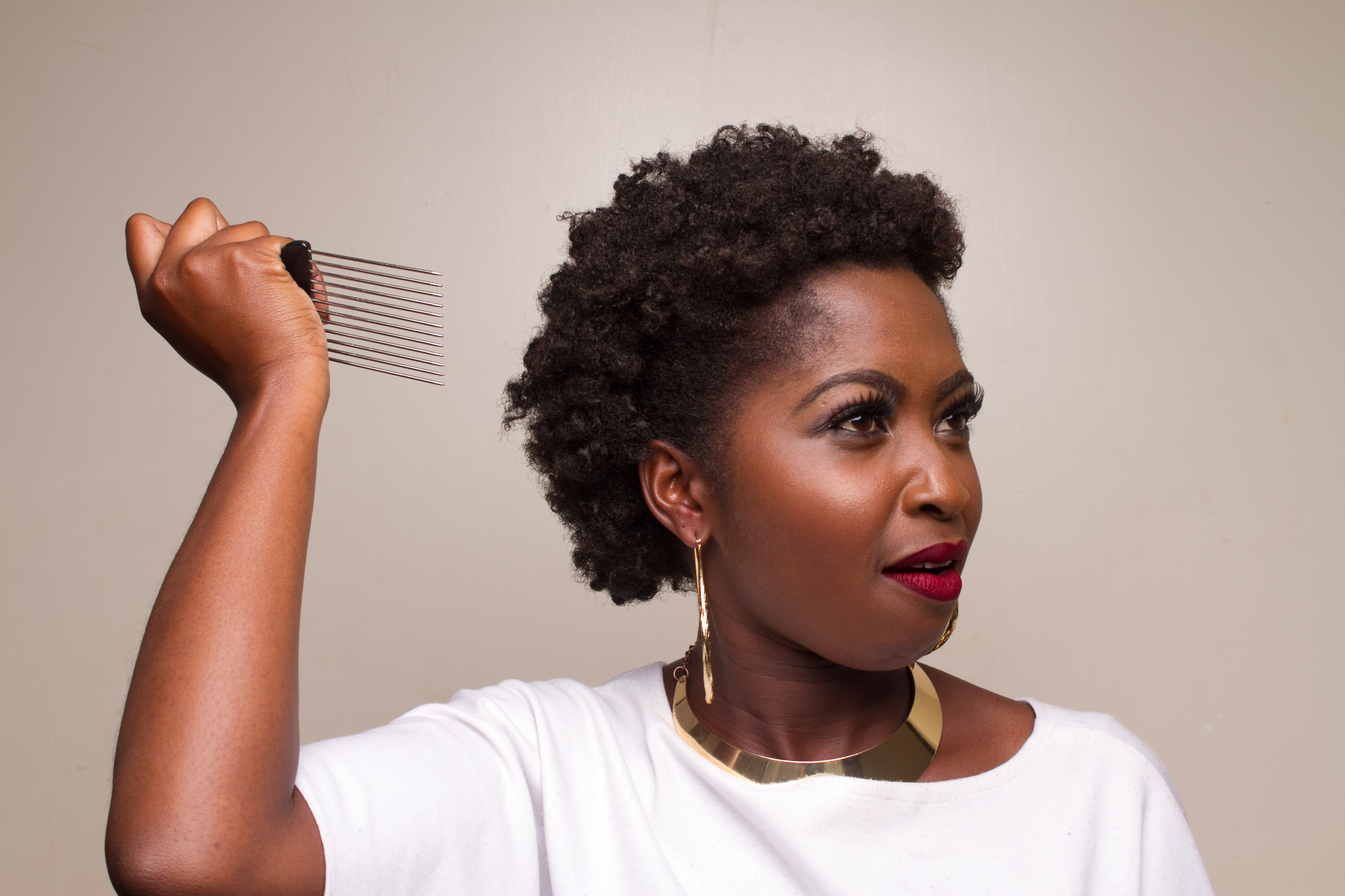 ways to style afro hair creative ways to style your hair genevieve magazine 5004